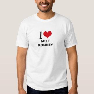 Amo a Mitt Romney Playeras