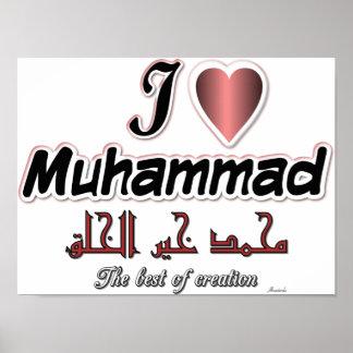 Amo a Mohamed - el mejor de la creación Poster