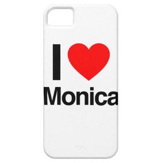 amo a Mónica iPhone 5 Fundas
