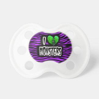 Amo a monstruos chupetes de bebé