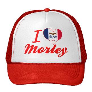 Amo a Morley, Iowa Gorras