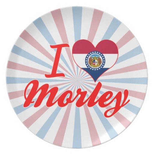 Amo a Morley, Missouri Plato De Comida