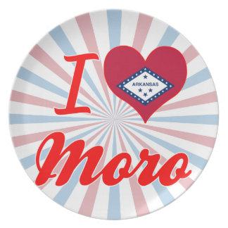Amo a Moro, Arkansas Plato Para Fiesta