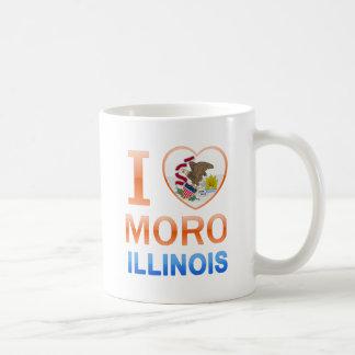 Amo a Moro, IL Tazas De Café