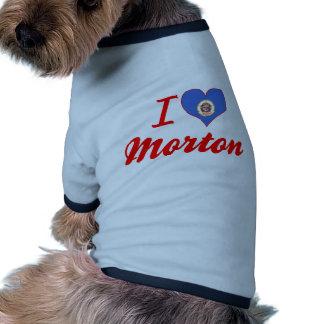Amo a Morton, Minnesota Ropa De Mascota