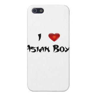 Amo a muchachos asiáticos iPhone 5 carcasas