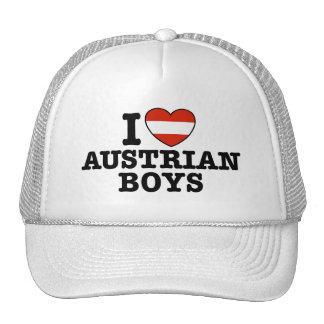 Amo a muchachos austríacos gorras de camionero