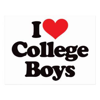 Amo a muchachos de universidad postal