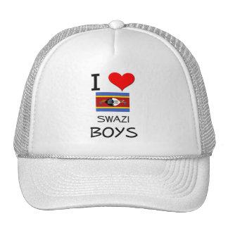 Amo a muchachos del Swazi Gorro De Camionero