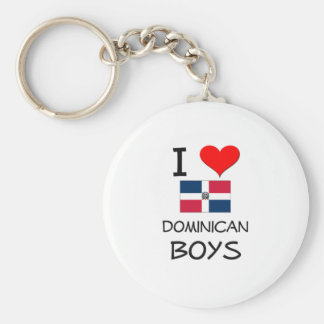 Amo a muchachos dominicanos llaveros