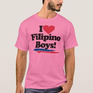 Amo a muchachos filipinos playera