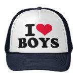 Amo a muchachos gorro