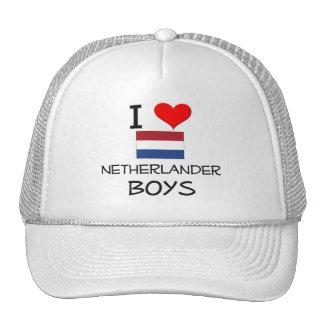 Amo a muchachos holandeses gorro