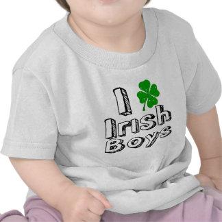 ¡Amo a muchachos irlandeses Camisetas