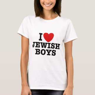 Amo a muchachos judíos playera