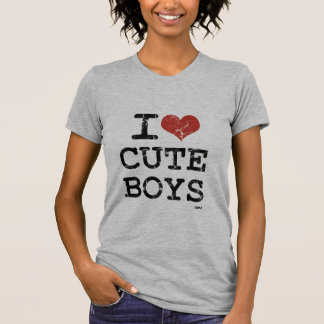 amo a muchachos lindos t-shirt