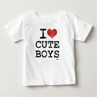 amo a muchachos lindos tee shirt