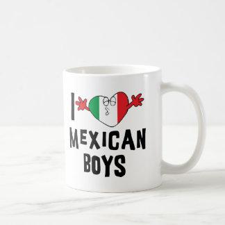 Amo a muchachos mexicanos taza