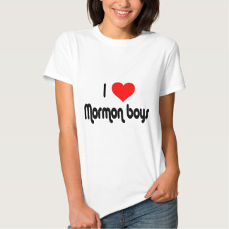 Amo a muchachos mormones poleras