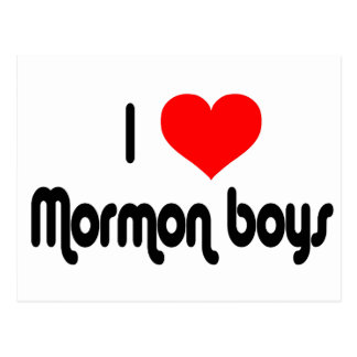 Amo a muchachos mormones postales