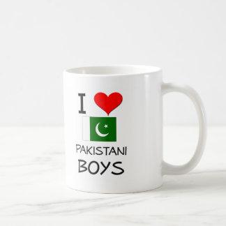 Amo a muchachos paquistaníes taza