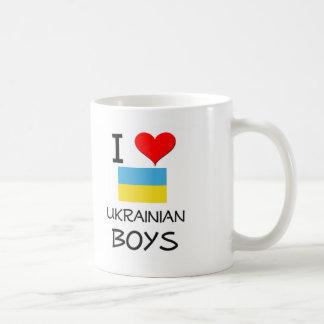 Amo a muchachos ucranianos tazas