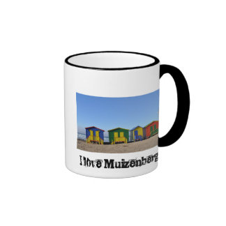 Amo a Muizenberg Taza De Dos Colores