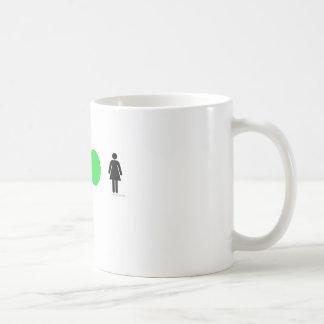 Amo a mujeres fáciles taza de café