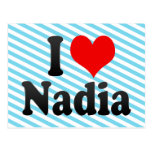 Amo a Nadia Postal