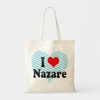 Amo a Nazare, el Brasil Bolsas De Mano