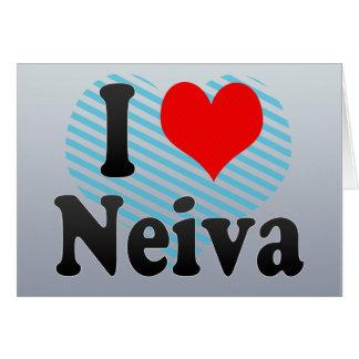 Amo a Neiva, Colombia Tarjeta De Felicitación