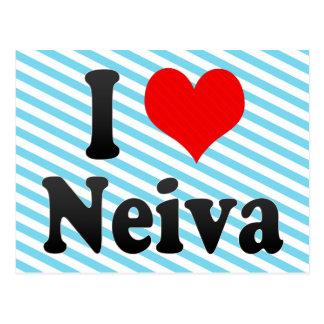 Amo a Neiva, Colombia Tarjeta Postal