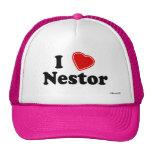 Amo a Nestor Gorros Bordados