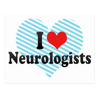 Amo a neurólogos postal