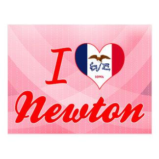 Amo a Newton, Iowa Tarjetas Postales