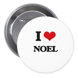 Amo a Noel Chapa Redonda 7 Cm