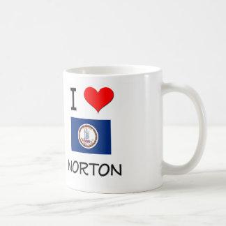 Amo a Norton Virginia Taza Clásica