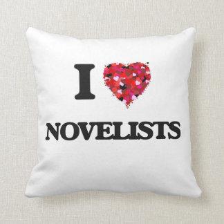 Amo a novelistas almohada