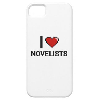 Amo a novelistas iPhone 5 Case-Mate protector