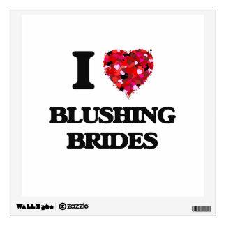 Amo a novias de ruborización