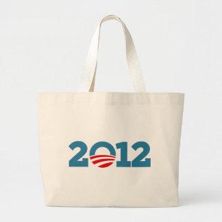 Amo a Obama 2012 Bolsa Tela Grande