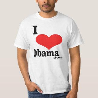 Amo a Obama 2012 Poleras