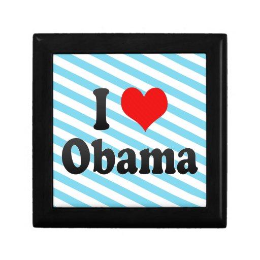 Amo a Obama, Japón Caja De Joyas