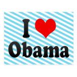 Amo a Obama, Japón Tarjeta Postal