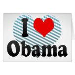 Amo a Obama, Japón Tarjeton