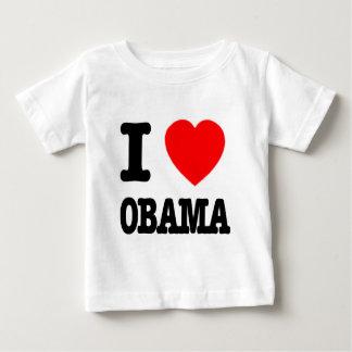 Amo a Obama Playera De Bebé