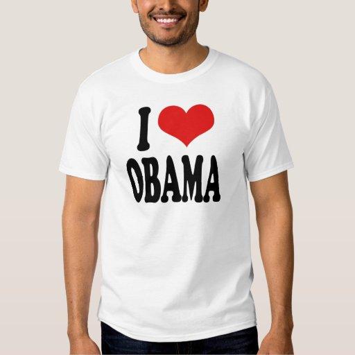 Amo a Obama Playeras