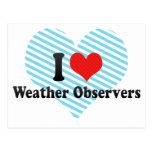 Amo a observadores de tiempo postales