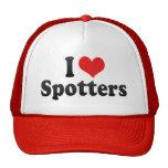 Amo a observadores de tiro gorras