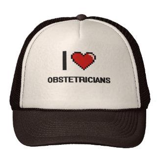 Amo a obstétricos gorras
